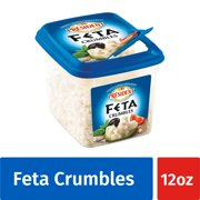 President All-Natural Crumbled Feta Cheese, 12oz.