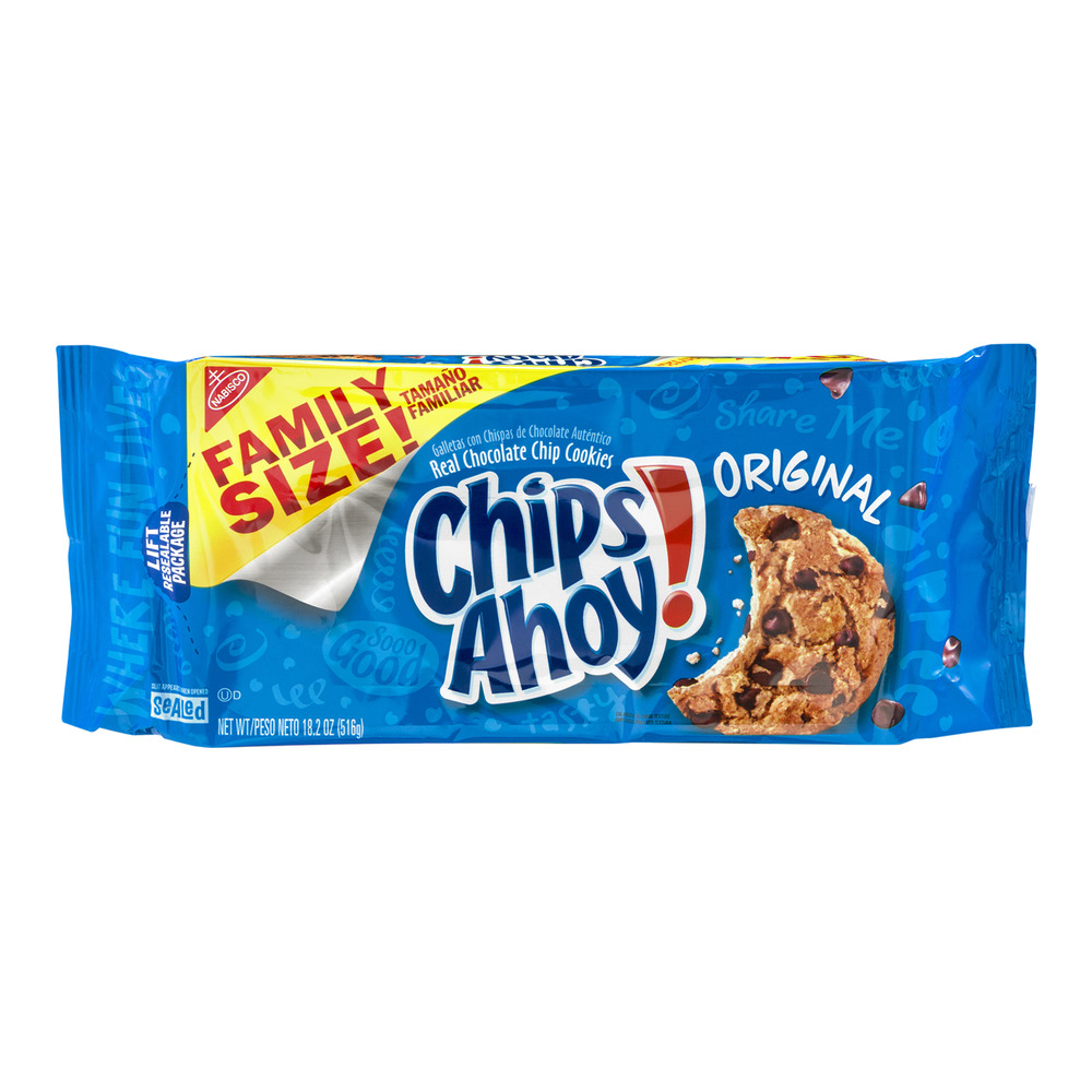 Nabisco Chips Ahoy! Original Cookies, 18.2 OZ