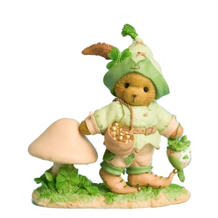 Cherished Teddies 4030795 Gwynn You Are My Lucky Charm Leprechaun Figurine - Lucky Charms Leprechaun