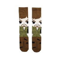 The Walking Dead-Chibi-Unisex Crew Sock-1 Pair-One Size Fits Most-Daryl
