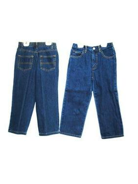 Boys Sizes 4/5/6/6X(7) Denim 5 Pockets Jeans ** 2 Units Pack **