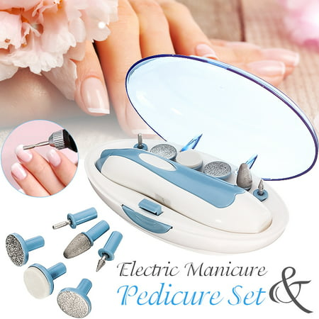Electric Nail File Drill Kit Manicure Nail Grooming Kit Multi-function Pedicure Machine Kit Electric Manicure Pedicure Nail