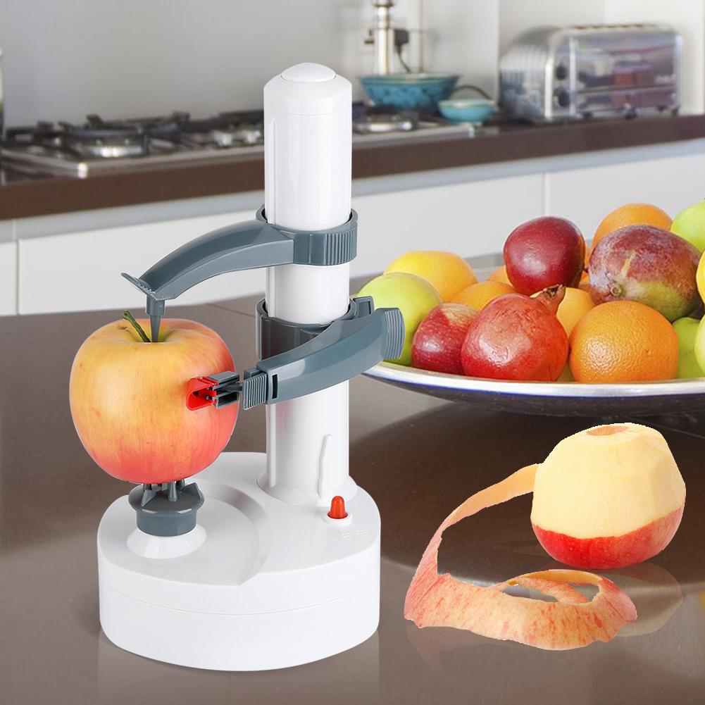 110V Electric Fruit Peeler Automatic Pear Apple Potato Peeling Machine Tool , Fruit Peeler, Automatic Peeler by