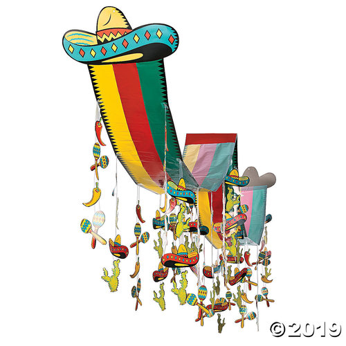 Fiesta Hanging Ceiling Decoration