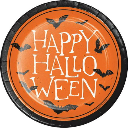 Creative Converting Happy Halloween Dessert Plates, 8 ct