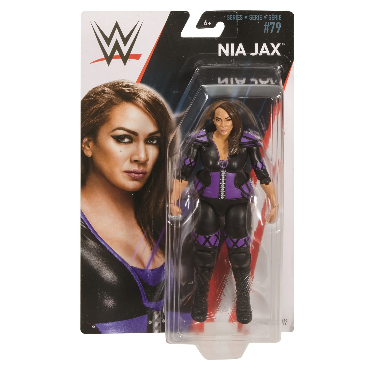 Nia Jax WWE Mattel Basic Series 79 Action Figure