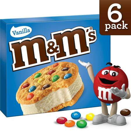 M&Ms Ice Cream Cookies - 6ct