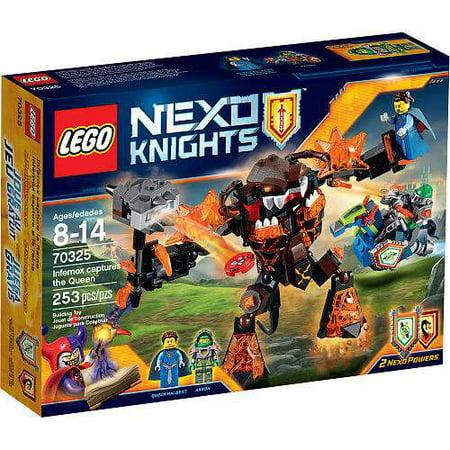Knight Leg Armor (Nexo Knights Infernox captures the Queen Set LEGO)