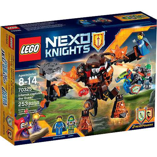 Nexo Knights Infernox captures the Queen Set LEGO 70325