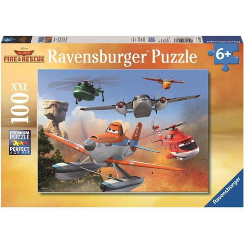 """Disney Planes: Fire & Rescue """"Fighting the Fire"""" Puzzle, 100 Pieces by Ravensburger"""