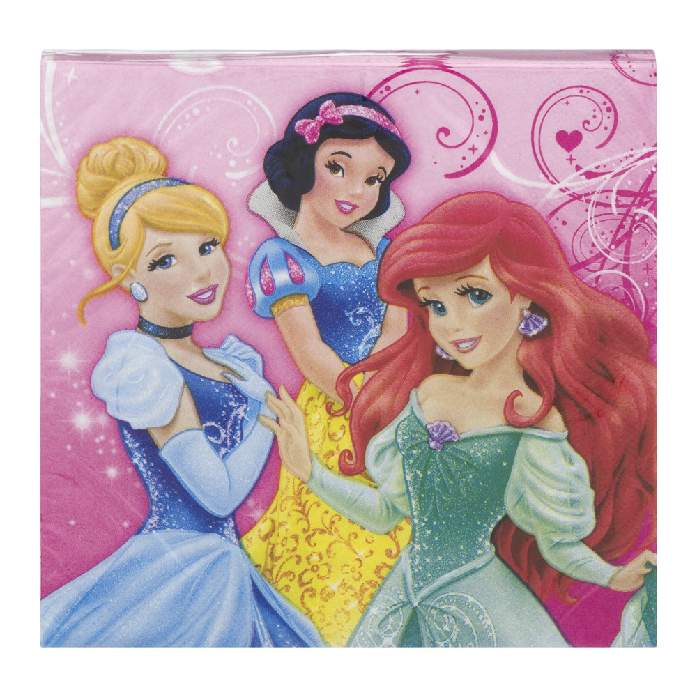 DesignWare Luncheon Napkins Princess Sparkle - 16 CT