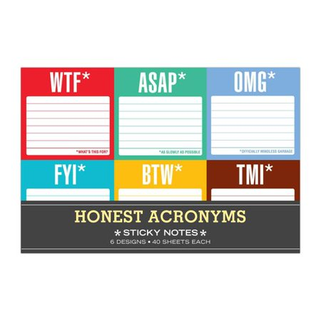 Honest Acronyms  Sticky Packet