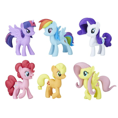 My Little Pony Meet the Mane 6 Ponies - My Little Pony Easter Basket