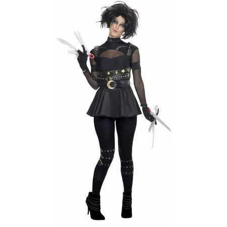 Edward Scissorhands Adult Halloween Costume - Edward Scissorhands Halloween Costume Kids