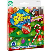 Mr.Sketch Scented Washable Marker Set, 6pk