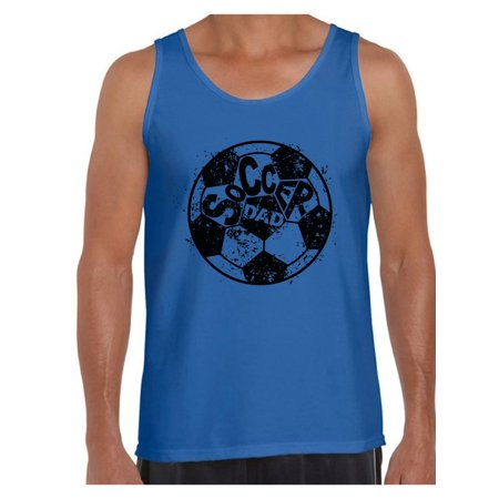 Men's Soccer Dad Sporty Graphic Tank Tops Vintage Black Daddy Father`s Day Gift Idea](Soccer Banquet Ideas)