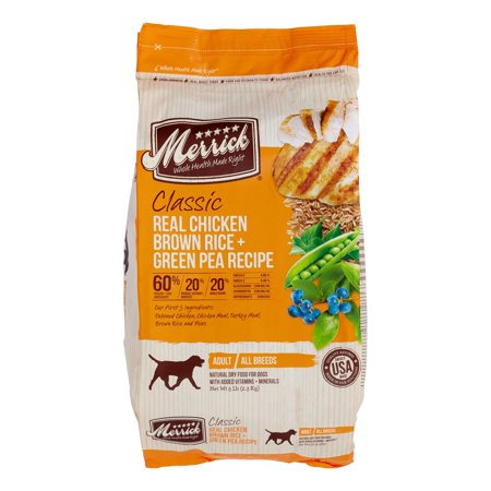 Merrick classic real chicken brown rice green pea recipe dry dog merrick classic real chicken brown rice green pea recipe dry dog food 5 forumfinder Choice Image