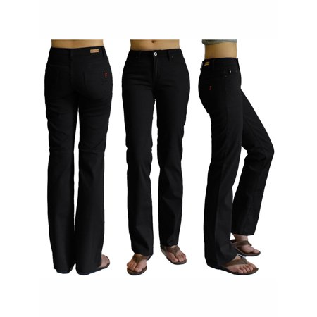 bf1bd88681861 Plus size Womens Black Straight Leg Stretch Jeans  5834W SIZE 18 -  Walmart.com