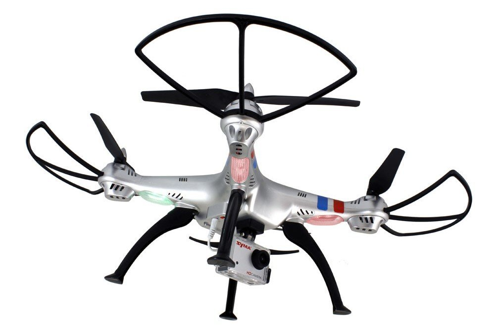 Syma X8g Headless 2 4ghz 4ch Rc Quadcopter With 8mp Hd Camera