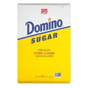 Product of Domino Premium Pure Cane Granulated Sugar, 25 lbs. [Biz Discount]