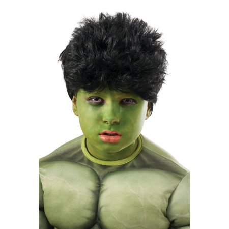 Dress Up Wig (Avengers 2 Hulk Wig and Make-Up)