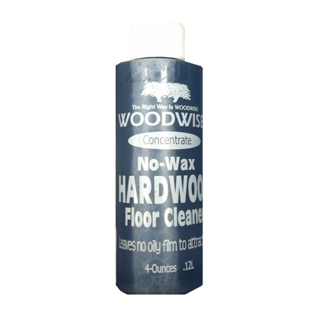 Woodwise No Wax 4oz Concentrate Hardwood Floor Cleaner