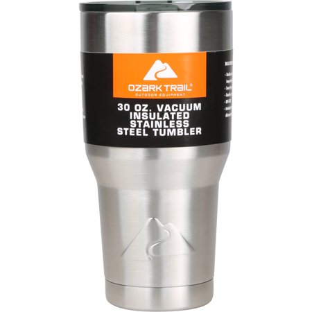 Ozark Trail 30-Ounce Double-Wall, Vacuum-Sealed Tumbler ()