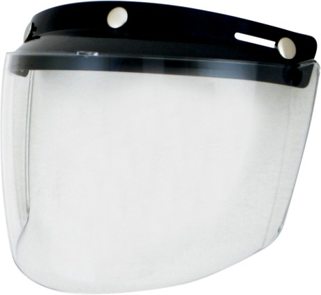 AFX Three-Snap Visor/Shield Clear