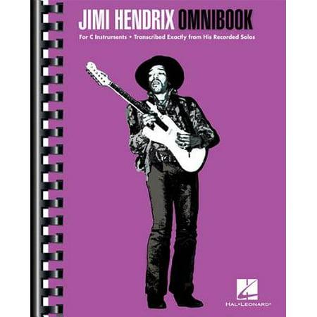 Jimi Hendrix Omnibook : For C - Jimi Hendrix Halloween Costume