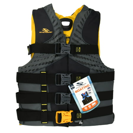 Stearns Men's Infinity Nylon Life Vest for Adults 90+ Pounds, L/XL,