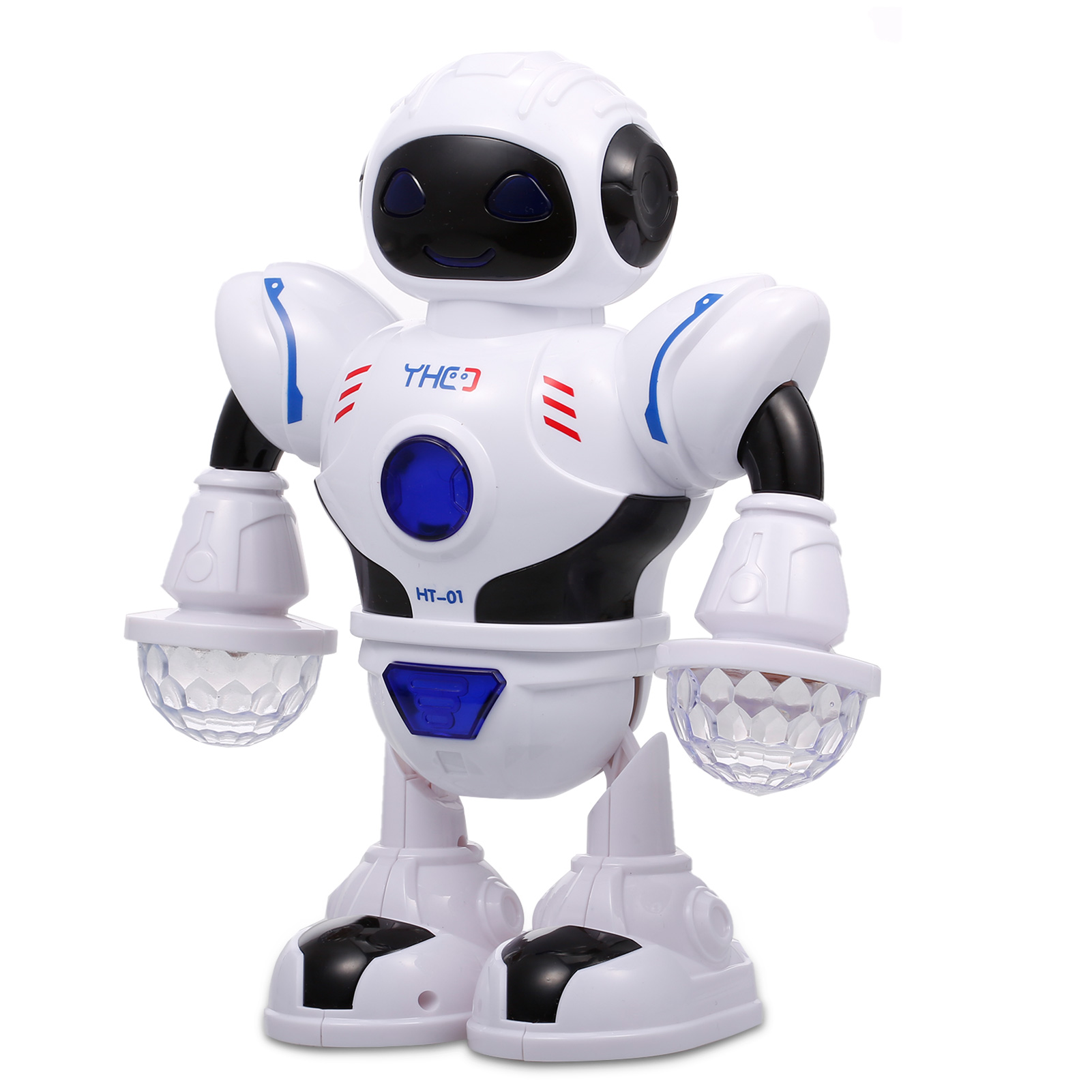 MARUSTAR RC Robot Toy,Remote Control Robot for Kids,Cute Appearance,Shine Eyes,360 Rotation Walking,Dacing,Great Gift for Kids Boys Girls