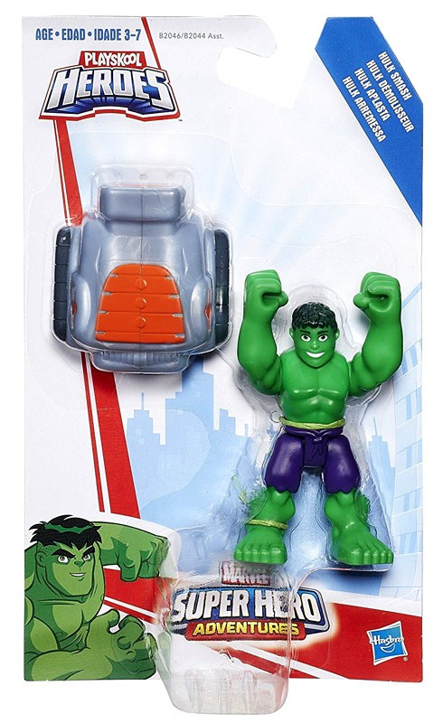 Playskool Heroes Marvel Super Hero Adventures Hulk Smash by
