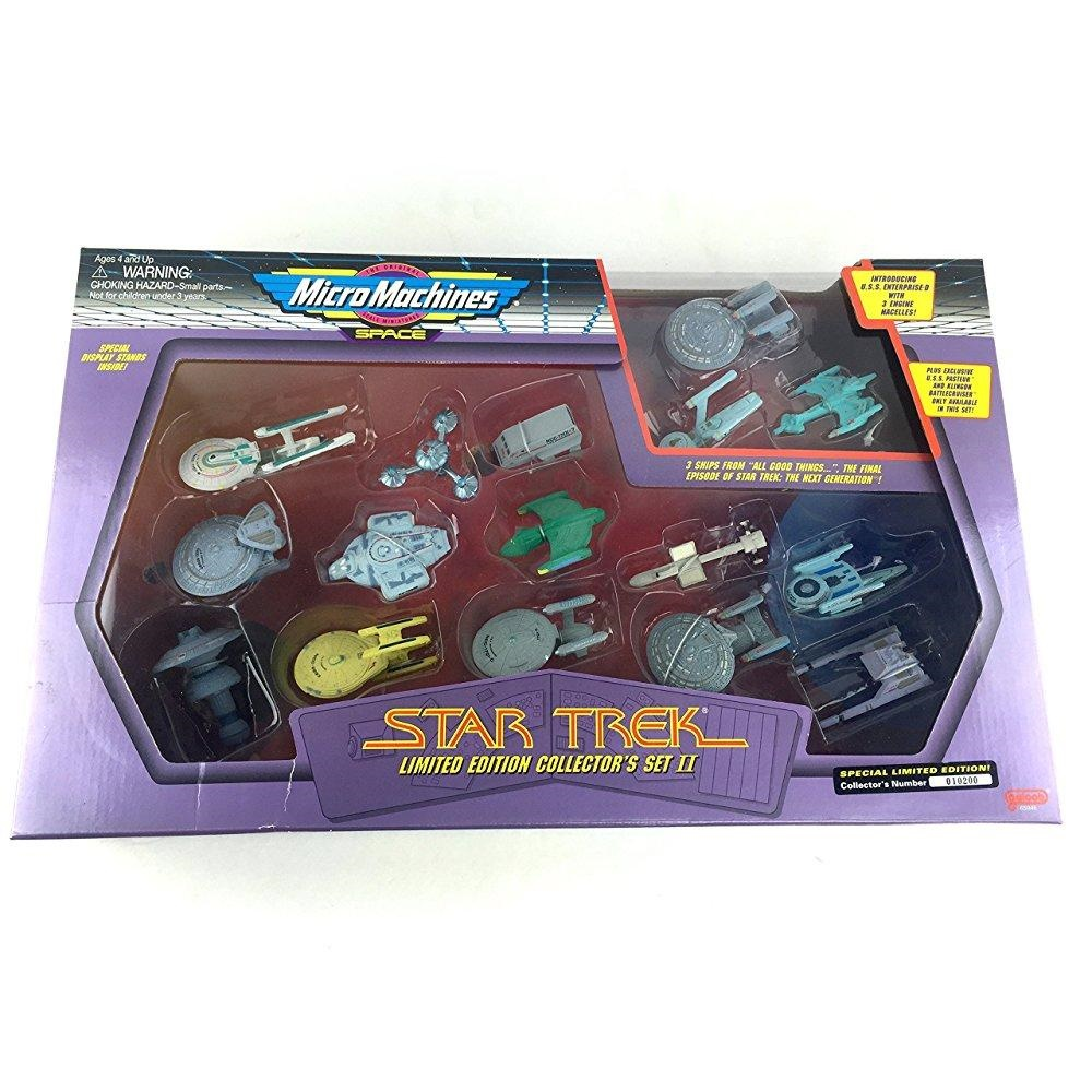 Micro Machines Star Trek Limited Collector's Set II by