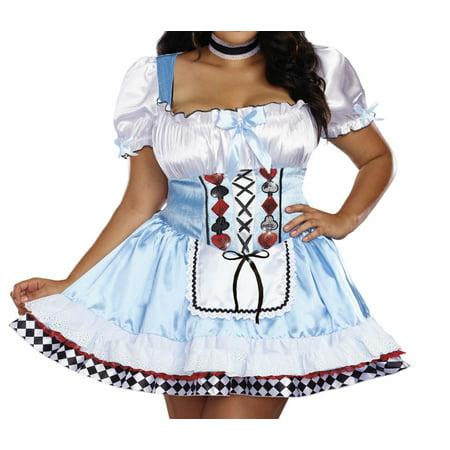 Dreamgirl Women's Plus-Size Beyond Wonderland - Beyond Wonderland Costume Ideas