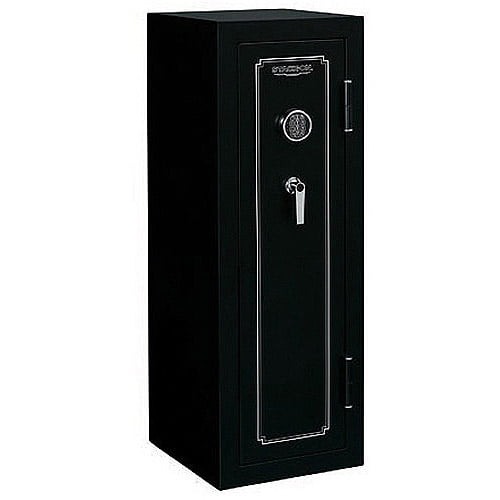 Stack-On 14 Gun Fire Resistant Security Safe with Electronic Lock FS-14-MB-E, Matte Black by Stack-On