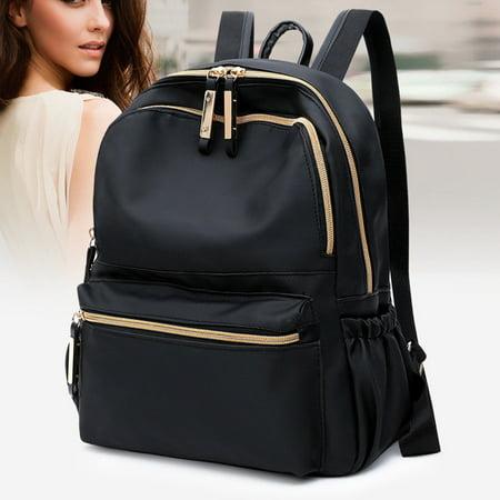 Fashion New Women Girls Mini Oxford Backpack Rucksack School Bag Travel Handbag ()