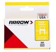Arrow 5/16 x 1/4-Inch Insulated Staple, 300 Count