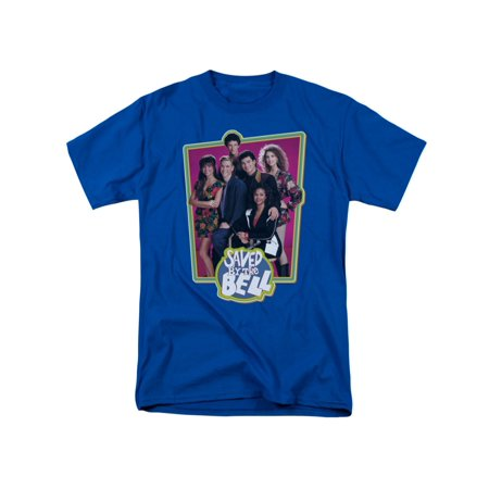 Bell Skirt (Saved By The Bell '80s Teen TV Show Saved Cast And Logo Adult T-Shirt)