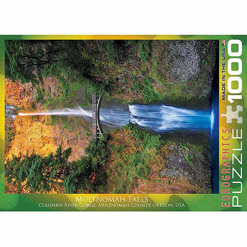 EuroGraphics Multnomah Falls, Oregon 1000-Piece Puzzle by Generic