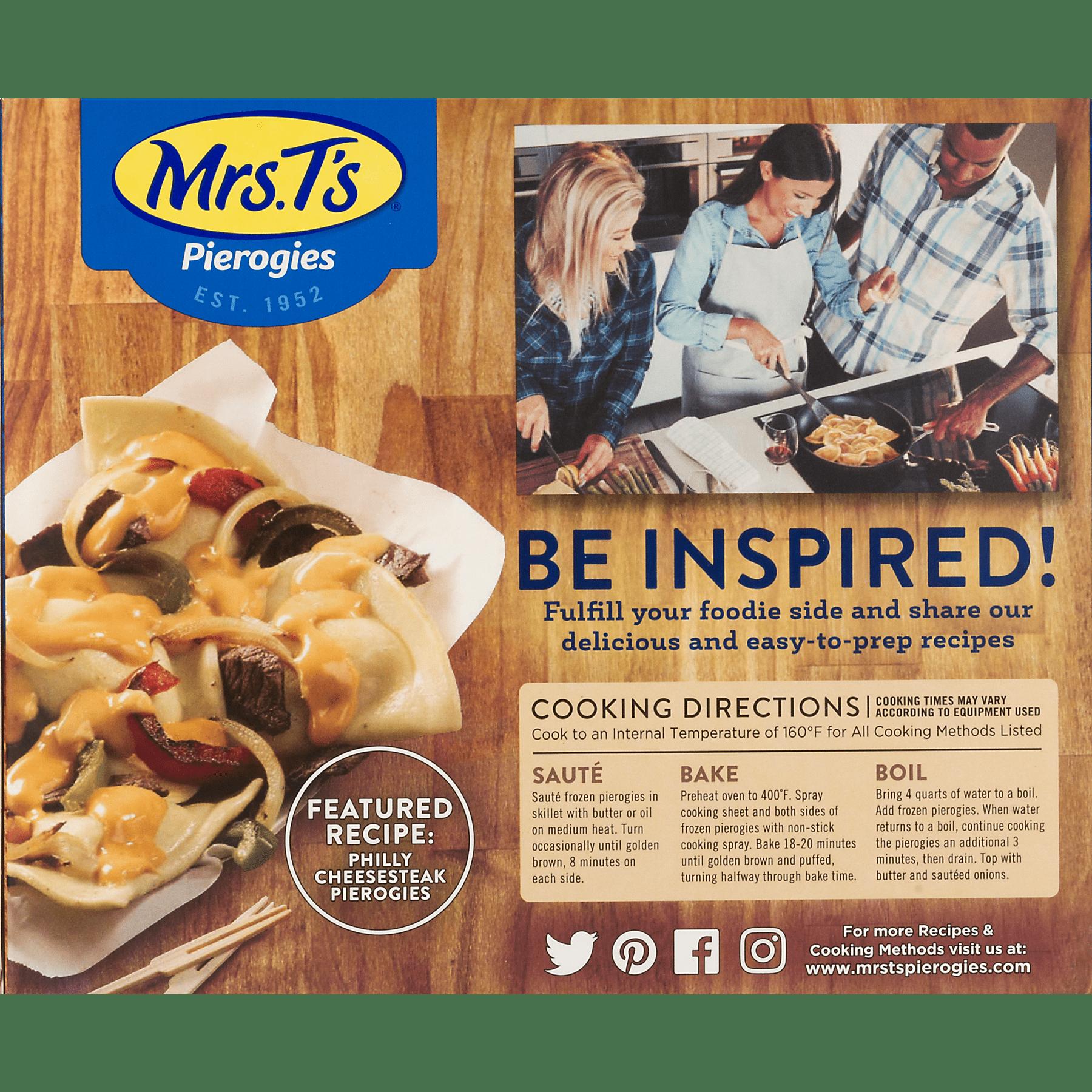 Mrs  T's Pierogies 4 Cheese Medley, 16 0 OZ - Walmart com