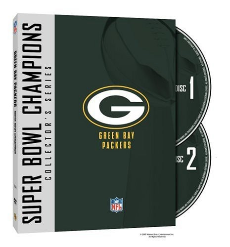 NFL Super Bowl Collection: Green Bay Packers by TIME WARNER