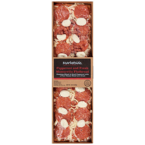 Marketside Pepperoni and Fresh Mozzarella Flatbread, 10 oz