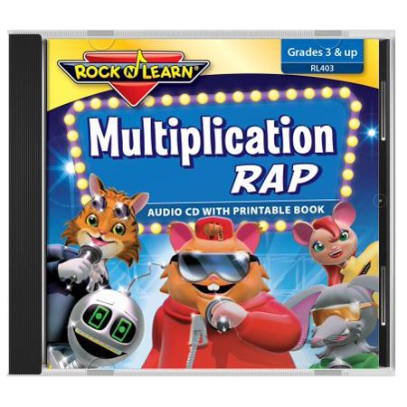 ROCK N LEARN MULTIPLICATION RAP CD (Best Rock Rap Mashups)