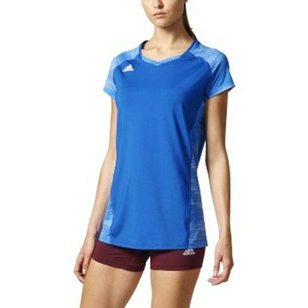 adidas women's volleyball quickset cap sleeve jersey, x-large ...