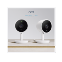 Google Nest Cam IQ Indoor Security Camera - 2 Pack