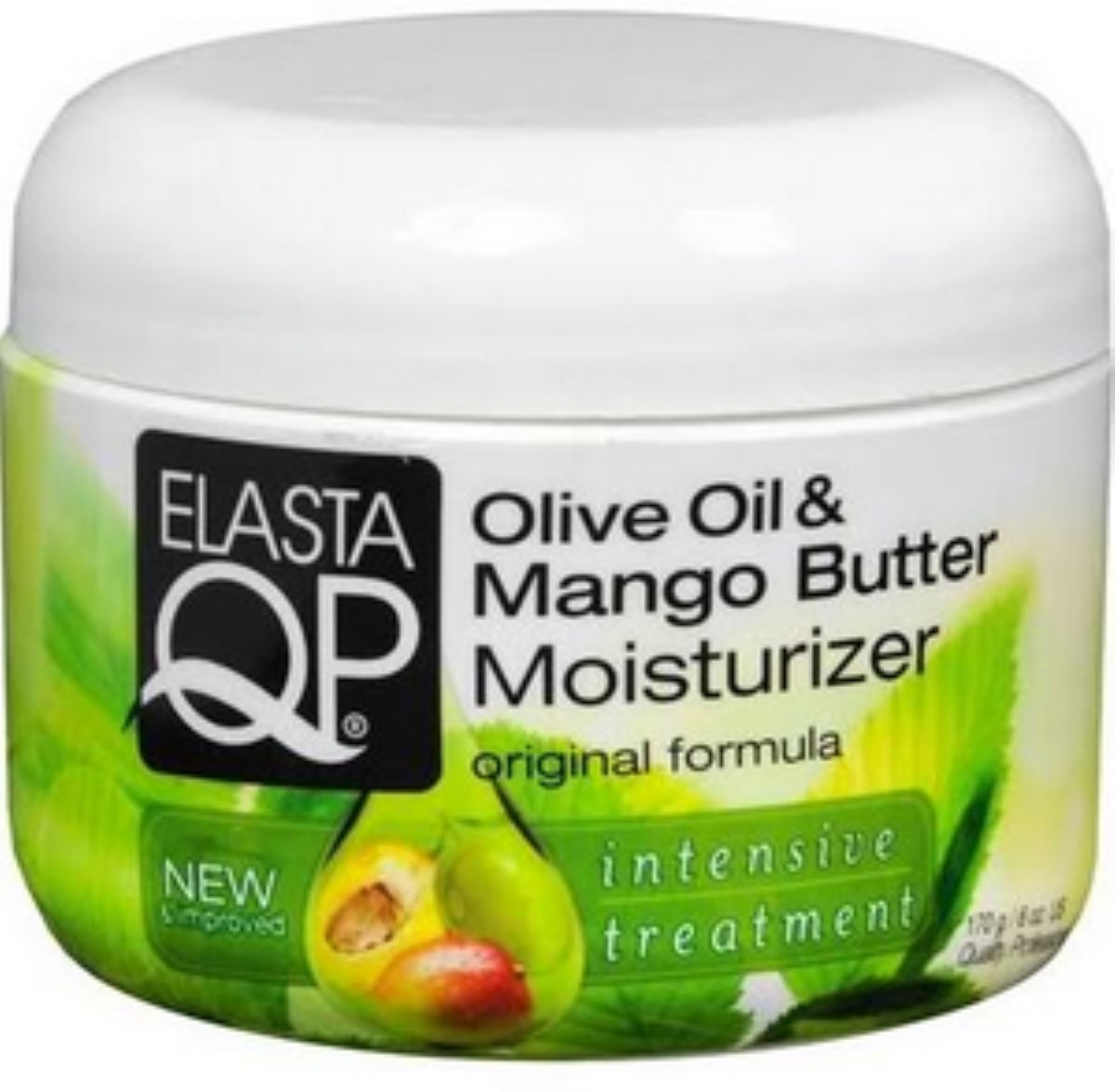 Elasta QP  Olive Oil and Mango Butter Moisturizer, 6 oz