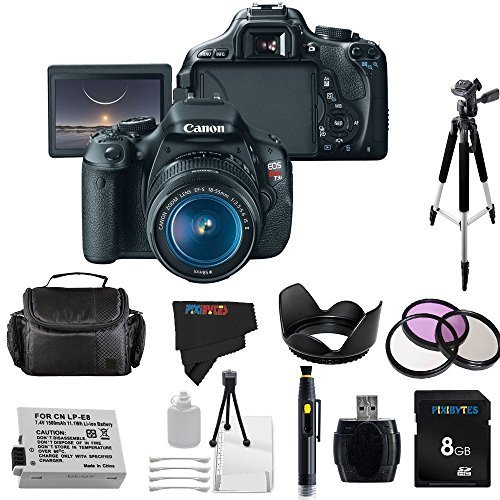 Canon EOS Rebel 600D / T3i Digital SLR Camera with EF-S 1...