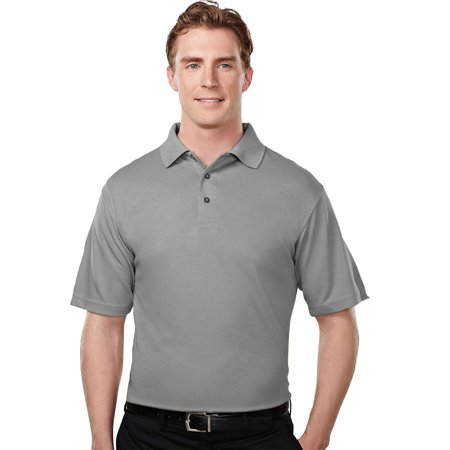 Tri Mountain Mens Big And Tall Micro Mesh Golf Shirt
