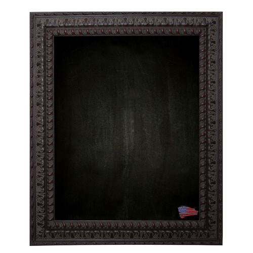 Rayne Mirrors Dark Embellished Wall Mounted Chalkboard