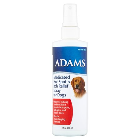 Adams Medicated Hot Spot And Itch Relief Spray For Dogs 8